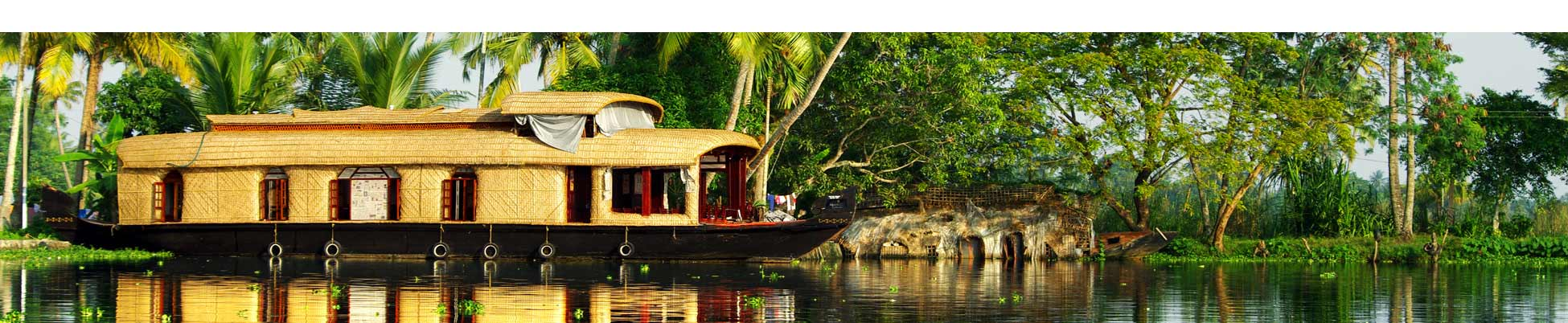Backwaters en Inde du Sud