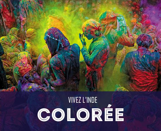 Vivez l'Inde Colorée