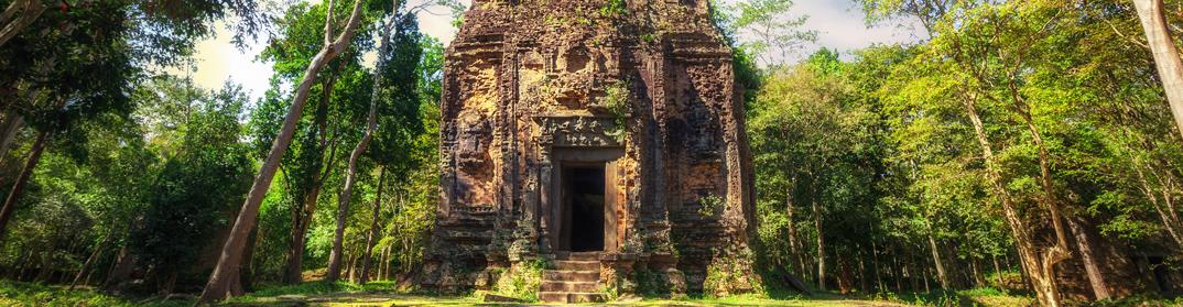 Kompong Thom Sambor Prei Kuk Cambodge