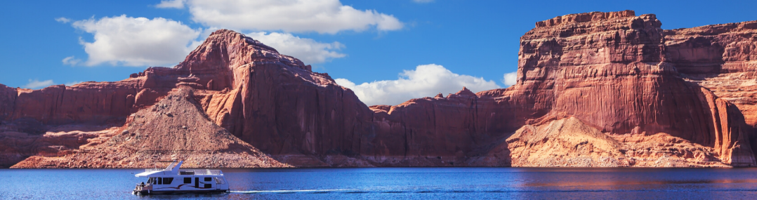lake powell canyon