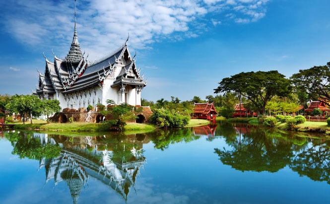 sanphet prasat palace bangkok thailande