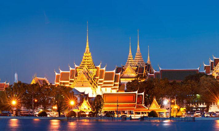 Bangkok grand palais Thailande