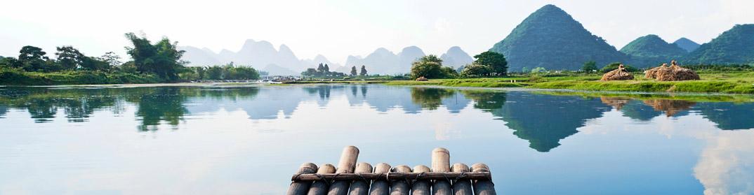 Barque Guilin rivière Li