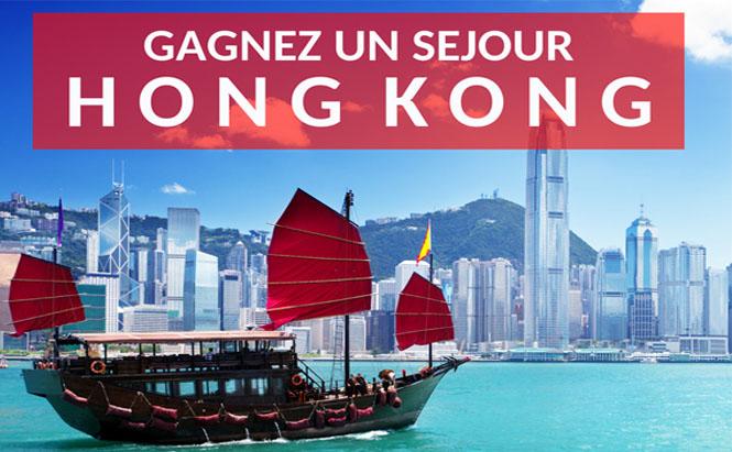 Gagnez un séjour Hong Kong