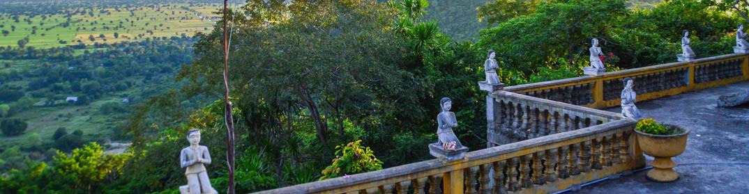 bouddha paysage battambang cambodge