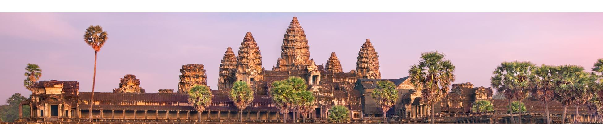 coucher de soleil angkor wat cambodge
