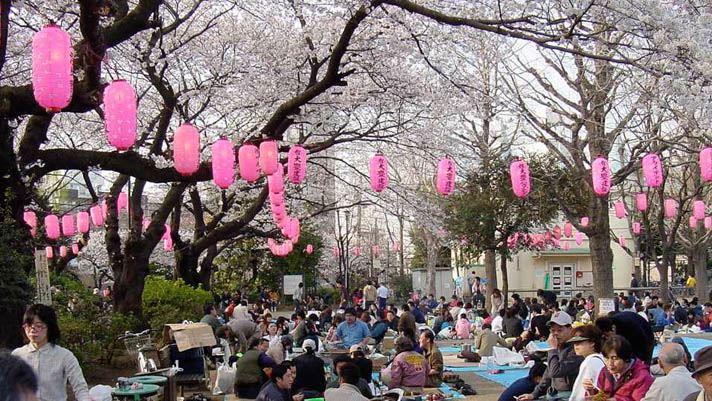 fête du printemps Japon