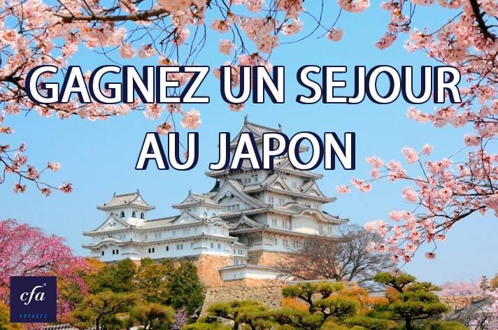 Gagnez Sejour Japon