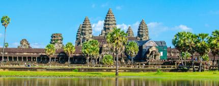 lac angkor vat siem reap cambodge