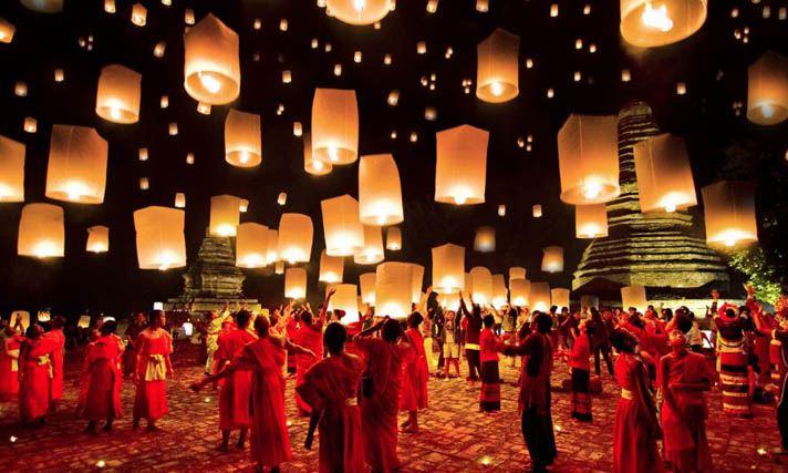 loy kratong festival des lanternes