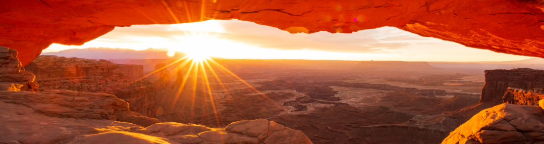 parc moab coucher de soleil