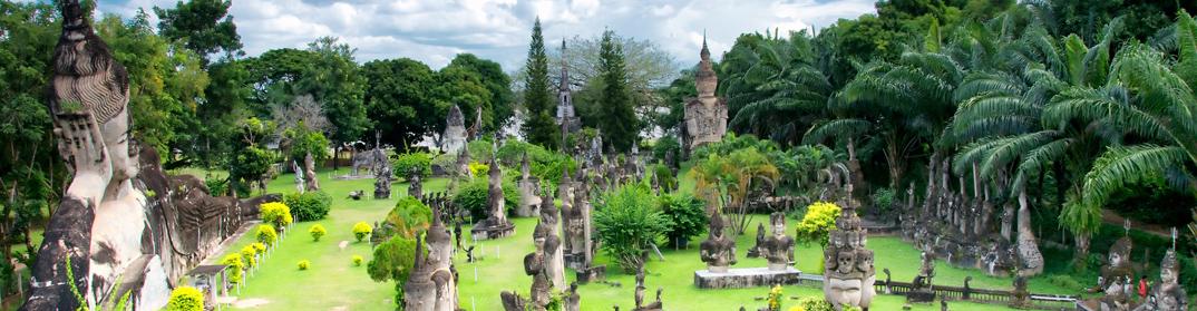 parc bouddha vientiane laos cambodge