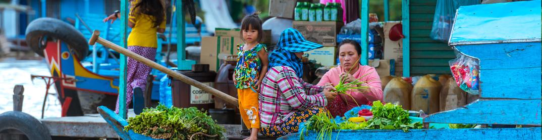 vilages flottants prek toal cambodge