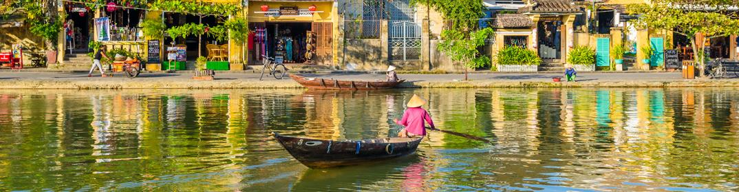 balade pirogue hoi an cambodge