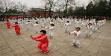 Le Qi gong, symbole de l'art de vivre chinois.