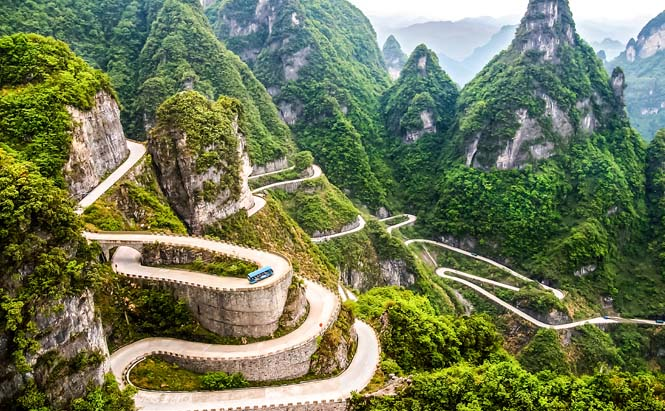 paysage montagne chine