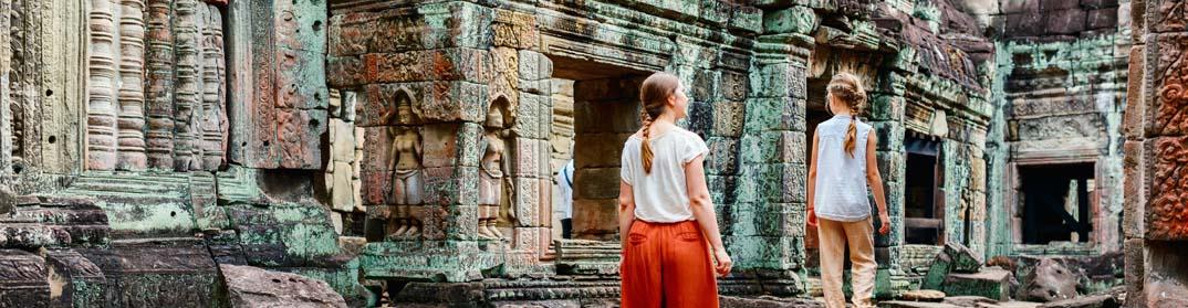 ruines temples angkor cambodge