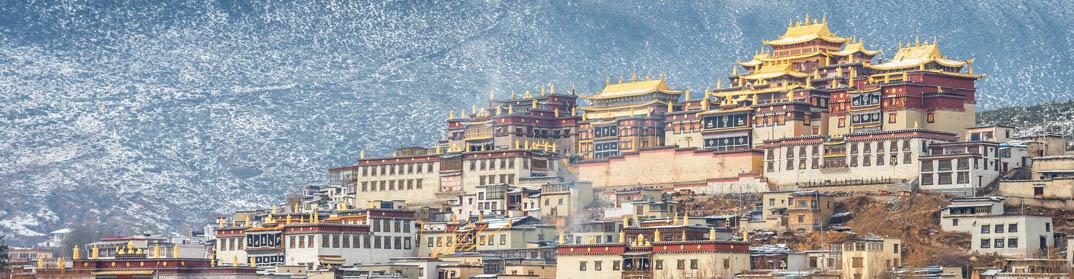 Temple a Shangri-La Zhongdian