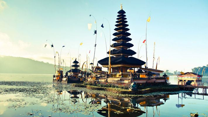 Temples bali indonésie