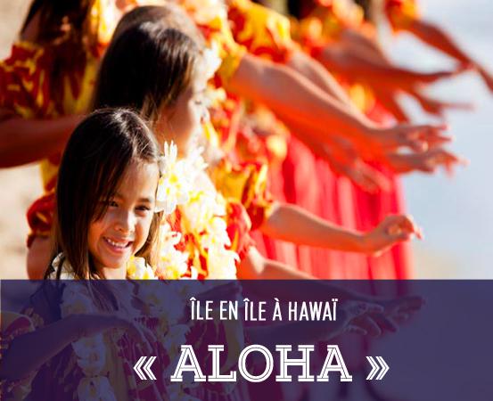 usa aloha hawai fille sourire