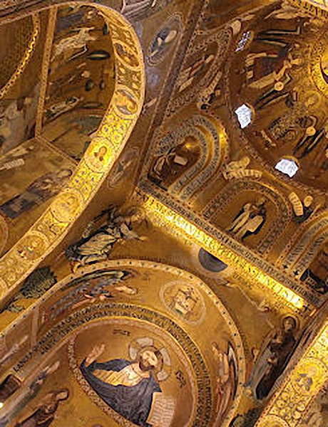 L'abside de la Chapelle palatine
