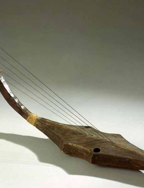 Harpe: Instrument à cordes pincées