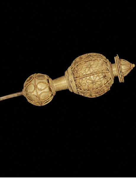GOLD PIN, SINDOS, CIRCA 560 BC