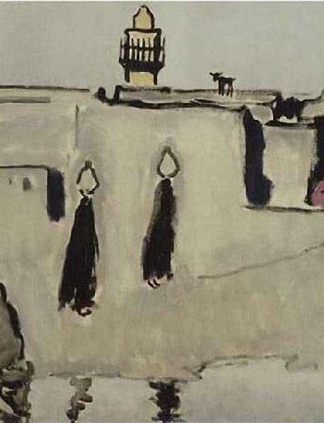 Kees Van Dongen Fellahines,1913 Huile sur toile