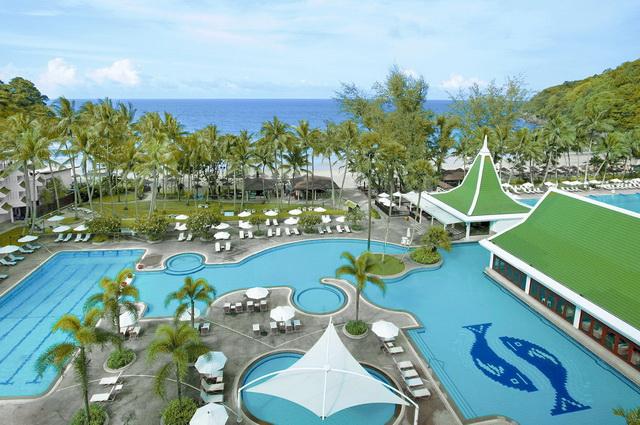 Séjour Thaïlande - Séjour Vol + Hôtel Le Méridien Phuket Beach Resort 5* plage de Hat Karon Noi