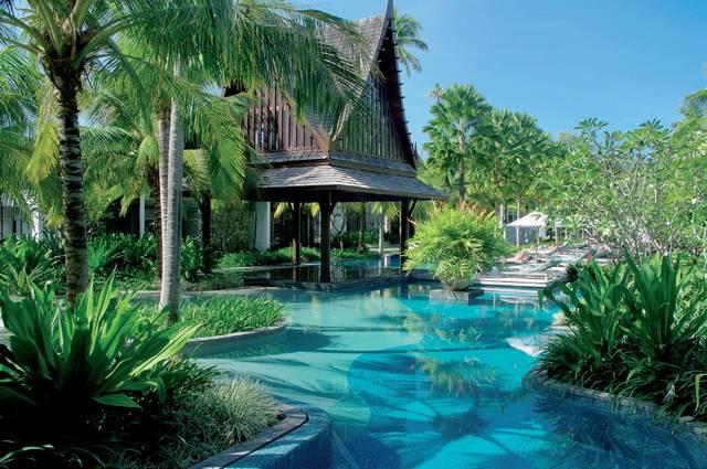 Séjour Vol + Hôtel Twinpalms Phuket 5* plage de Surin
