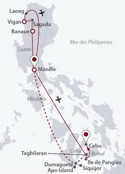 Philippines - Circuit Couleurs Philippines