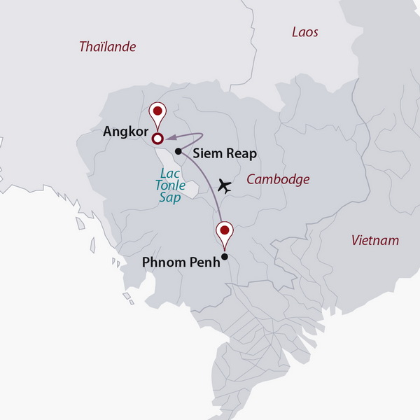 Cambodge - Circuit Privé Passion Khmère (cat. sup.)