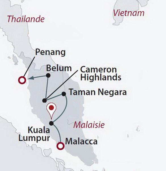 Malaisie - Circuit Privé Splendeurs Péninsulaires