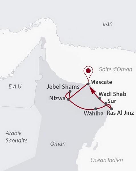 Oman - Circuit Impressions Omanaises et séjour Mascate 4*