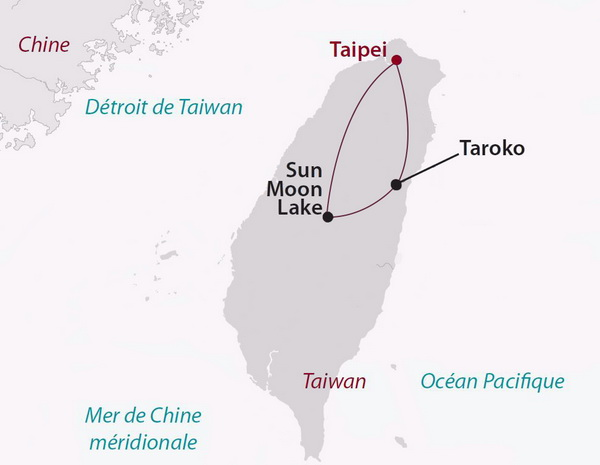 Taiwan - Circuit Privé Escapade Taiwanaise