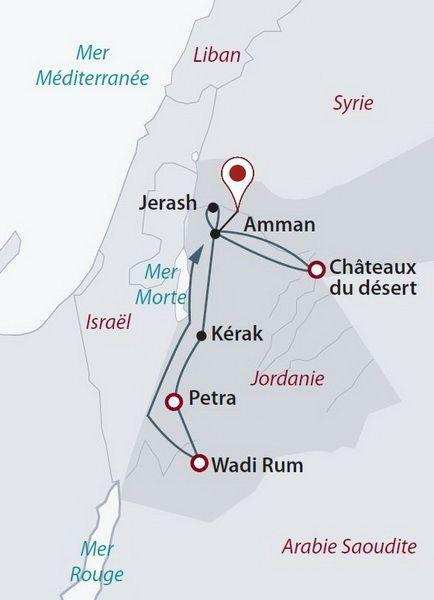 Jordanie - Circuit Privé Objectif Petra (cat. confort)