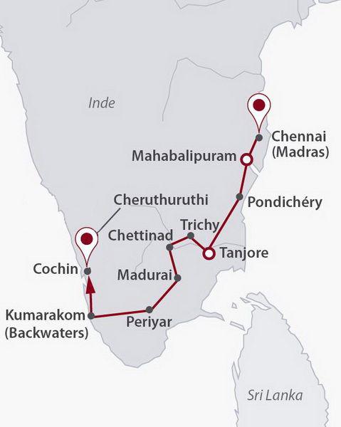 Circuit Une Inde Du Sud Intimiste Inde Du Sud Inde Avec