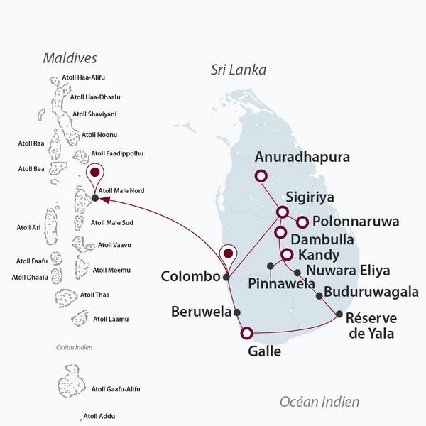 Carte Bancaire Sri Lanka.Ceylan Bonheur Sejour Maldives 4 Sri Lanka Lidl Voyages
