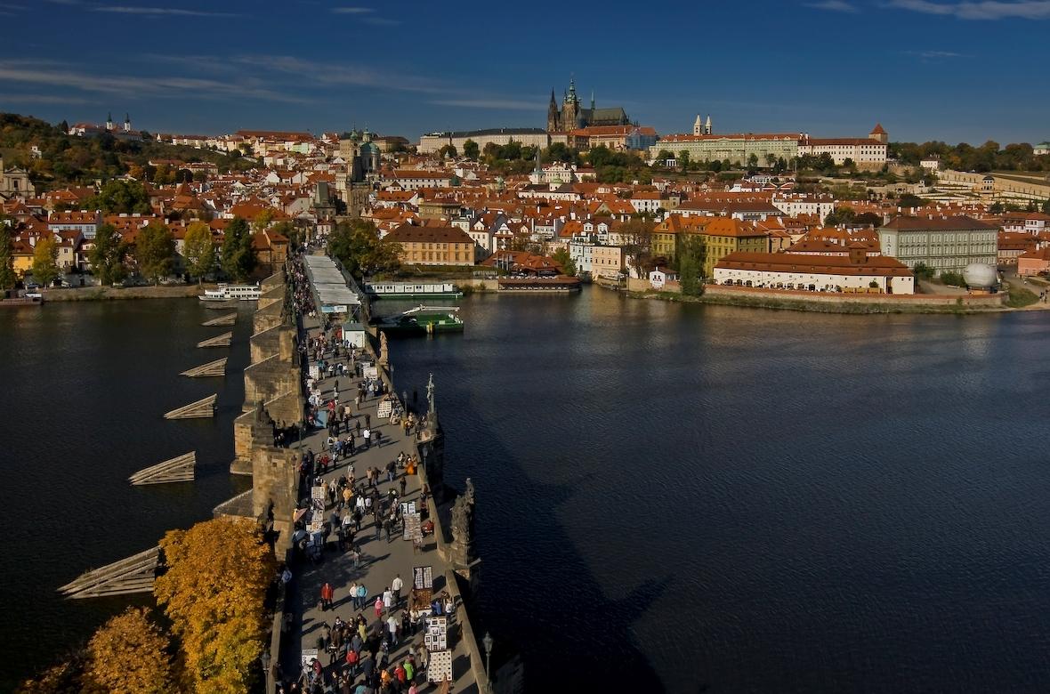 Prague : La ville bohème