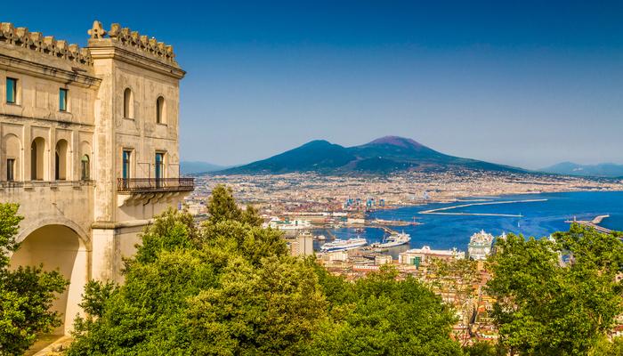 Naples et ses vestiges