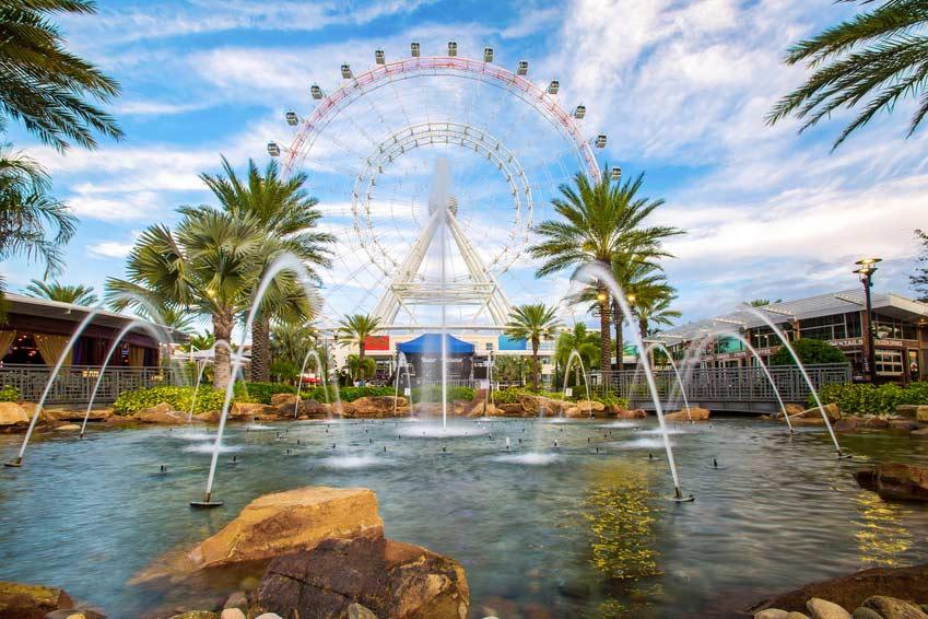 Orlando et ses parcs magiques