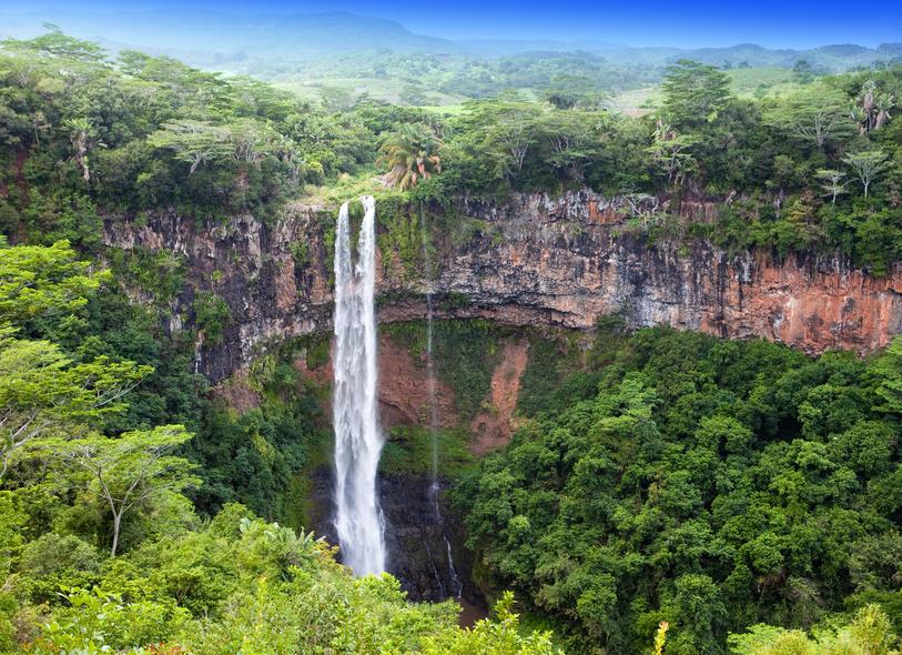 Sous les tropiques de l'île Maurice