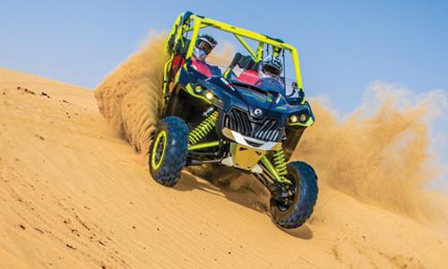 Tour en buggy dans le désert
