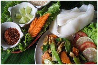 Cours de cuisine dans l'école de cuisine Baan Hongnual