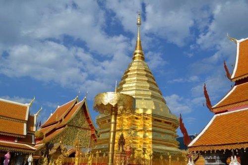 Visite privée d'une journée du temple de Doi Suthep au départ de Chiang Mai avec déjeuner