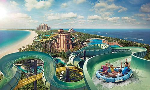 Parc Aquaventure à Atlantis