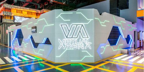 Billet d'entrée au parc de jeux Hub Zero de Dubaï