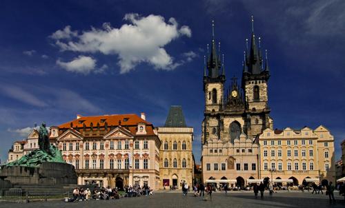 Visite guidée de Prague avec déjeuner et croisière sur la Vltava