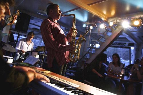 Croisière musicale sur le Jazz Boat