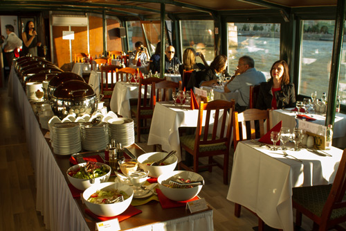 Déjeuner-croisière sur le Danube